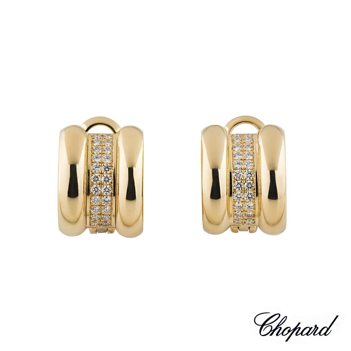 Chopard La Strada Diamond Earrings 6435-41